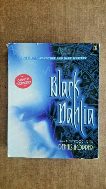 Black Dehlia (PC Windows 1998) - BIG BOX  EDITION